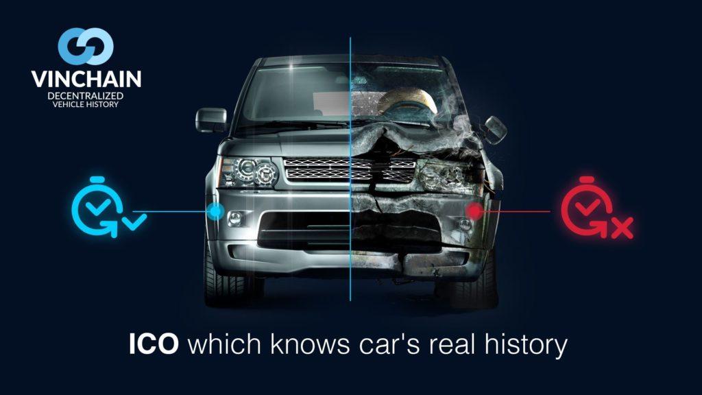 automobile and vinchain ico